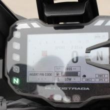 Cockpit der Multistrada