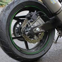 hintere ABS Bremse der Z800