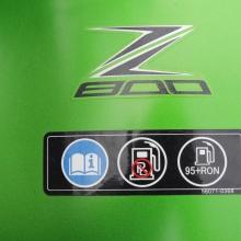 Z800 Logo auf dem Tank