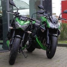 Kawasaki Z800 und Kawasaki Z1000 im Vergleich