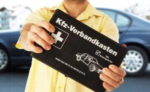 normaler PKW Verbandskasten (Quelle: www.shop-apotheke.com)