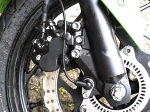 Vorderbremse mit ABS Sensor