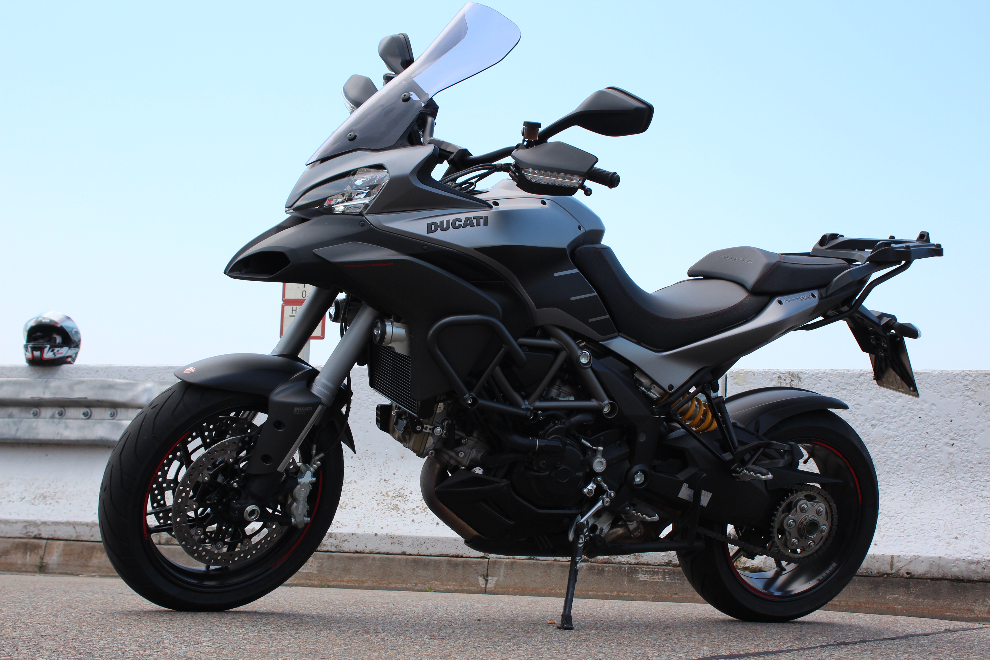 Ducati  Multistrada Test