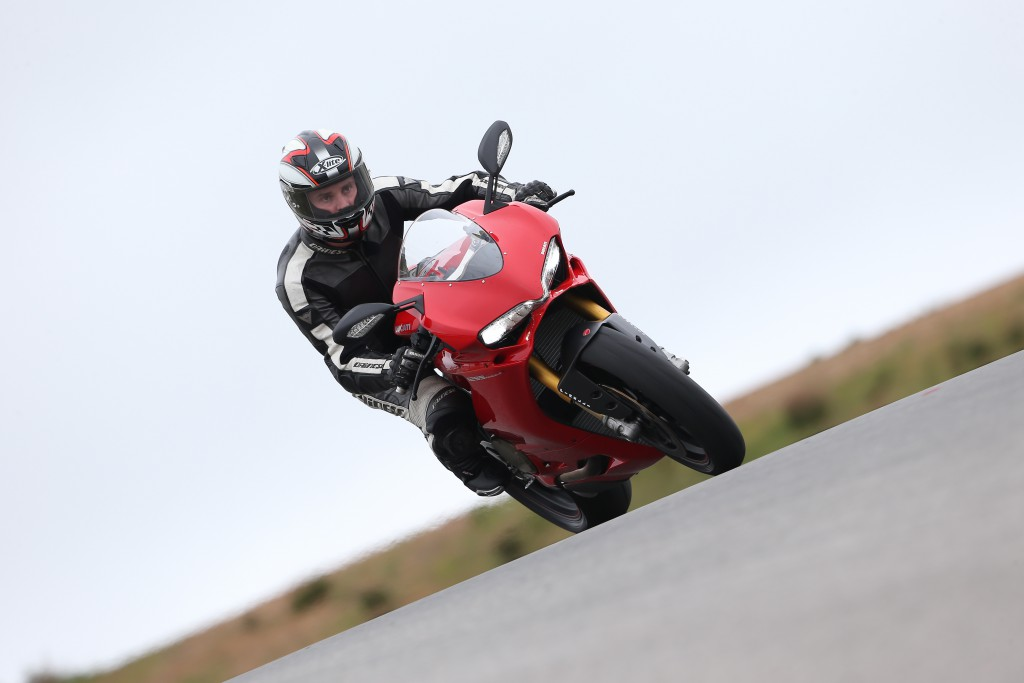 In Action - Panigale 1299S