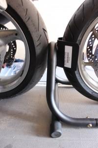 Motorräder hintereinander transportieren