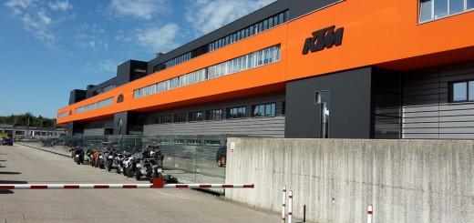 KTM Werk in Mattighofen
