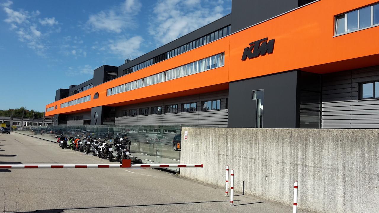 Ktm Factory Tour In Austria