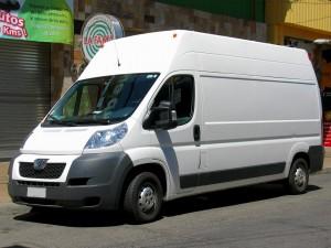 Für den Transport werden üblicherweise Kleintransporter benutzt