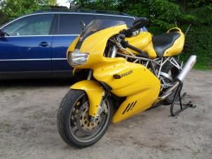 Mein erstes eigenes Motorrad - Ducati 900 SS i.e.