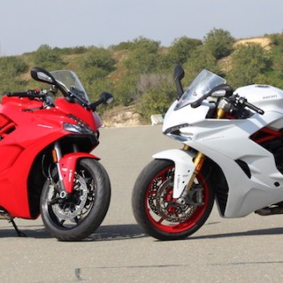Frontansicht Ducati Supersport